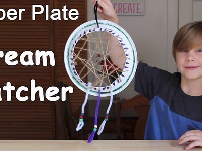 Paper Plate Dream Catcher | Easy Craft for Kids