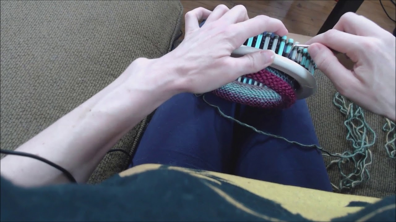 What the heck is loom knitting, anyway?