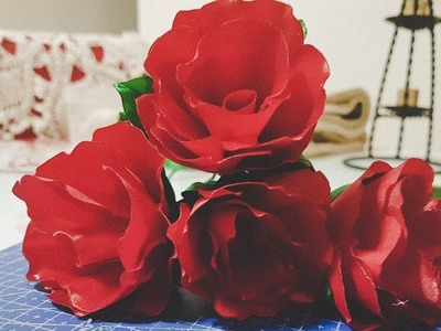 Easy Diy to make a flower. Faire une rose facilement