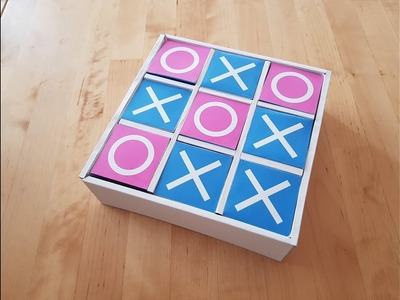 How to Make a Tic Tac Toe Game from Paper at Home