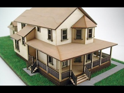 Easy Cardboard 3d House Easy And Beautiful Cardboard 3d