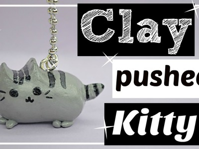 DIY KiAWii CLAY PUSHEEN CAT NECKLACE | Lily Ann
