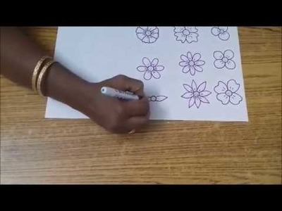 Draw Watercolor Flower Painting Video Simple Steps To Flower Painting Card Making Ideas