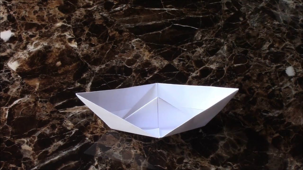 easy origami boat step by step instructions