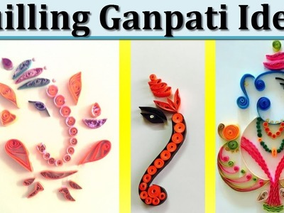 Easy Quilling Art Ideas(Designs) |quilling ganpati Decoration | Stay tuned stay trendy | Images