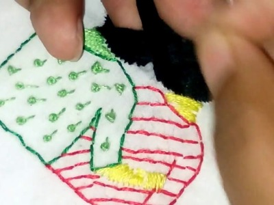 Hand embroidery | friendship | DIY