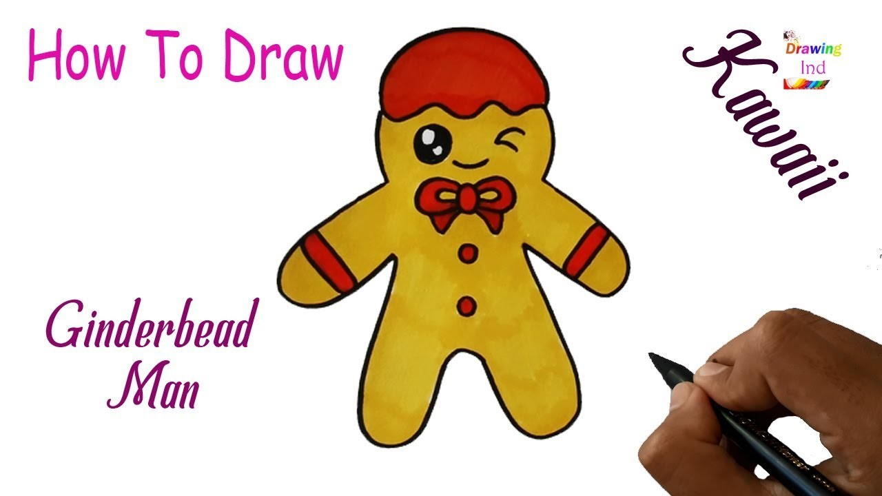 how to draw a doll easy