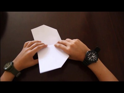 """How to Fold """"Flappy Bird"""" Paper-Airplane   Paper-Airplane Tutorials"""