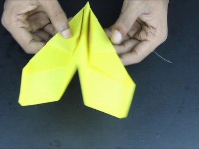 How to Make a Cool Paper Airplane | How to make a Paper Airplane that Flies Far