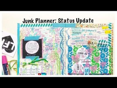 Junk Planner #5: Altered Book Journal: Junk Journal Tutorial