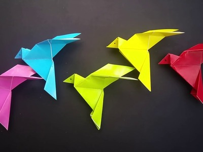 Learn Colors With Origami Burung