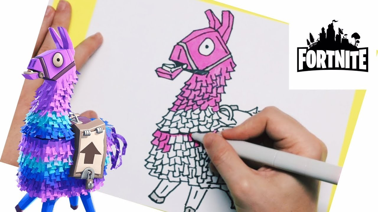 New How To Draw A Fortnite Llama Easy Step By Step Drawing