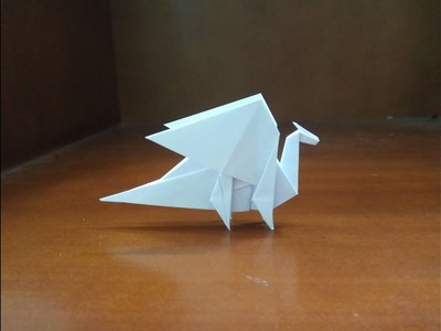 Origami dragon - how to make moutain dragon