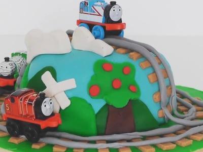 Play Doh how to Make Train Cake DIY