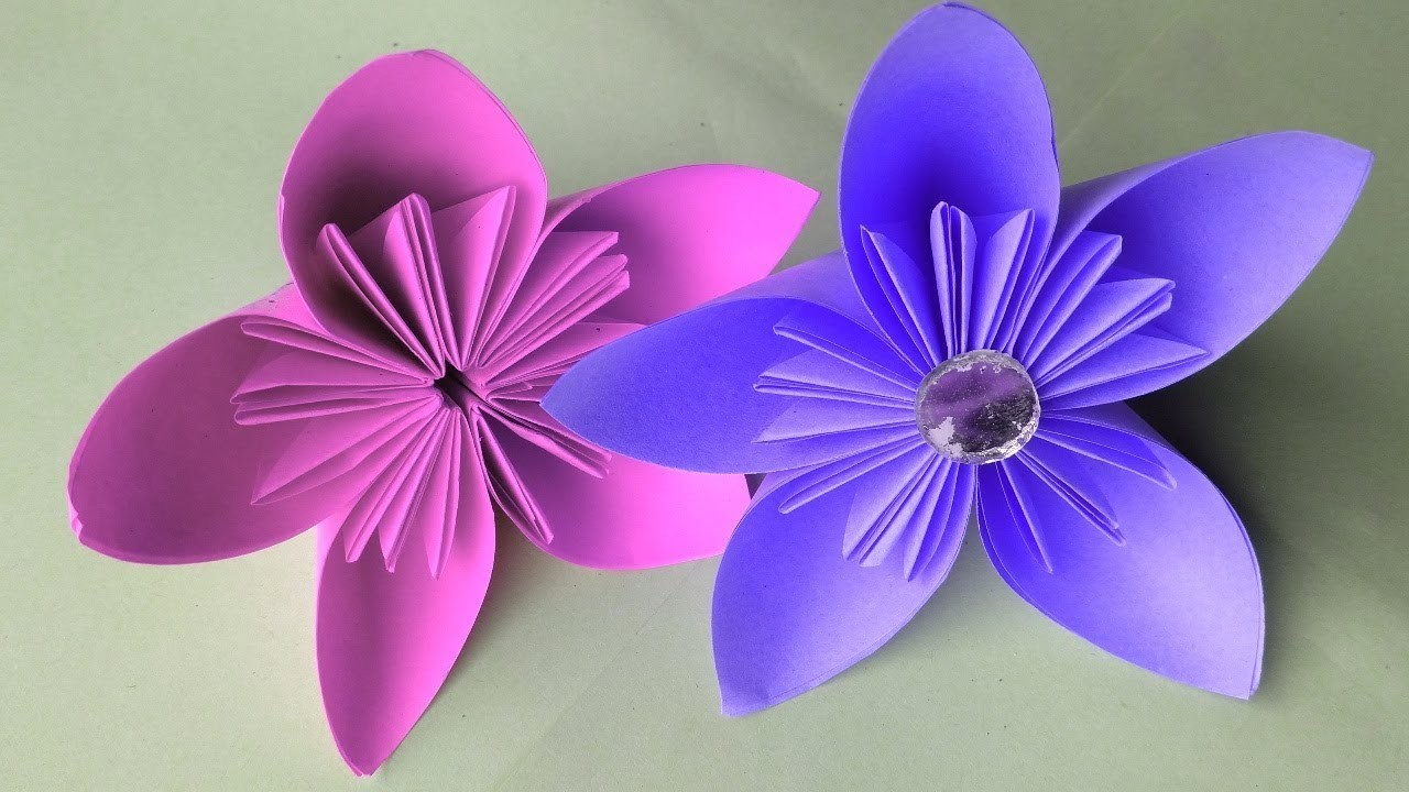 Simple Paper Flower Paper Cutting Design