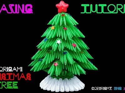 3D Origami Christmas Tree Tutorial 1.32 - 4k