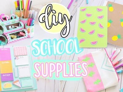 7 DIY Easy School Supplies!! 2018 Organization & More!