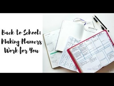 Back to School: Making Your Planner Work for You