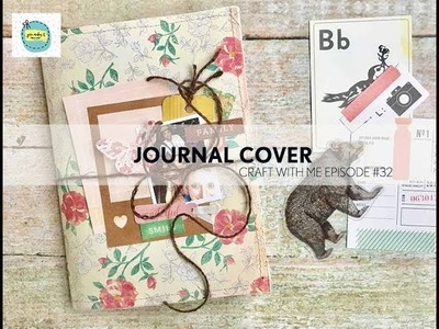 Decorate A Journal Cover | Craft With Me #32