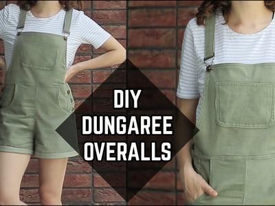 DIY Corduroy Dungaree Overalls. DIY menčestrový overal (SK,EN sub)