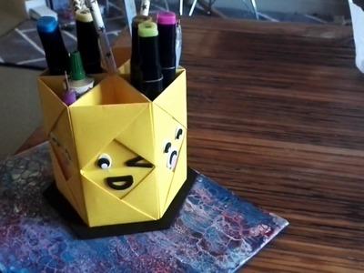 DIY organizer back to school (emoji)????