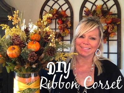 DIY RIBBON CORSET - I SHOW YOU HOW!
