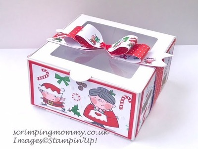EASY decorated Bakers Boxes, craft fair idea, gifts.