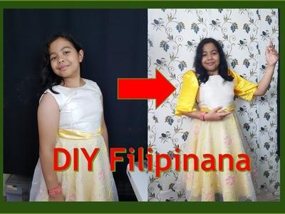 How to DIY filipiniana costume.Philippine National Costume.Igorot Attire.UN Costume for Girls