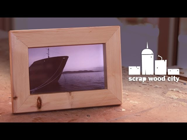 How to make a picture frame using the table saw