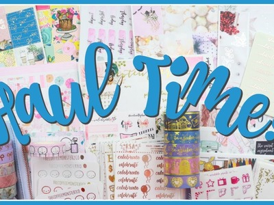 Mega Planner Haul! Stickers, Washi and More.