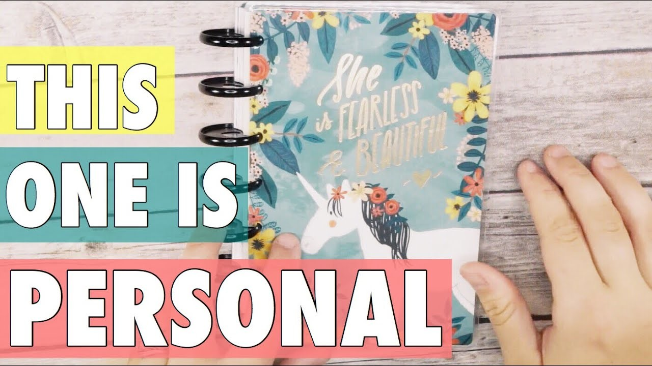 MINI HAPPY PLANNER SET-UP AND WALK THROUGH | VERY PERSONAL HAPPY PLANNER JOURNAL