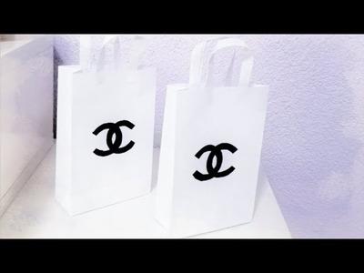 ❥ CHANEL PAPER BAG DIY! FOR GIFT OR ROOM DECOR!