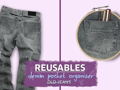 DIY: How to Reuse Your Old Jeans | Trendy Denim Pocket Organiser | MissMalini