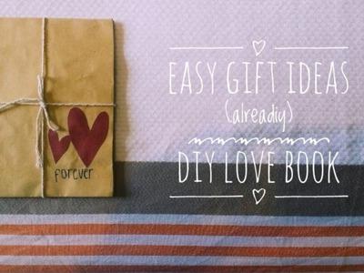 Diy love book (LoveBookOnline) | easy gift ideas | alreadiy