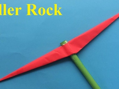 How to make a paper pickaxe