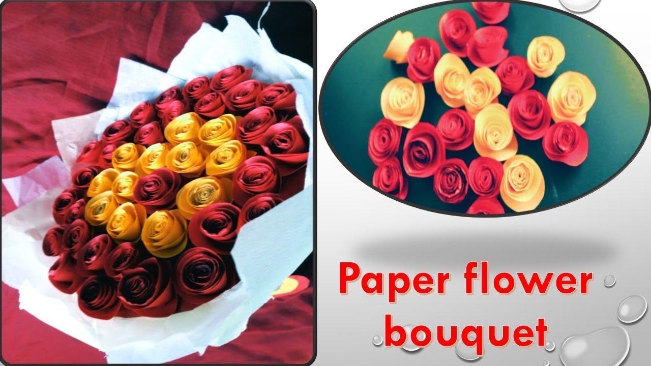 How to make paper flower bouquetper flowers mom and aditya izmirmasajfo