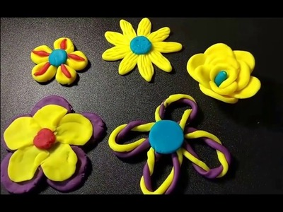 Play-Doh How to make a Flower | DIY | Fun With Play-Doh