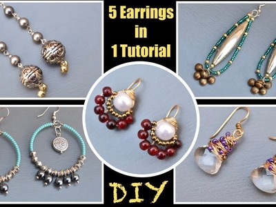 5 Earrings you can quickly make at home with easy steps | VHMJ