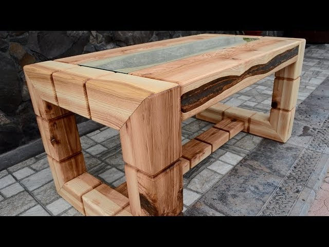 Ash tree coffee table