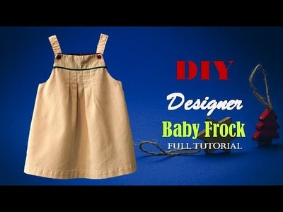 Baby Frock cutting and stitching Full Tutorial