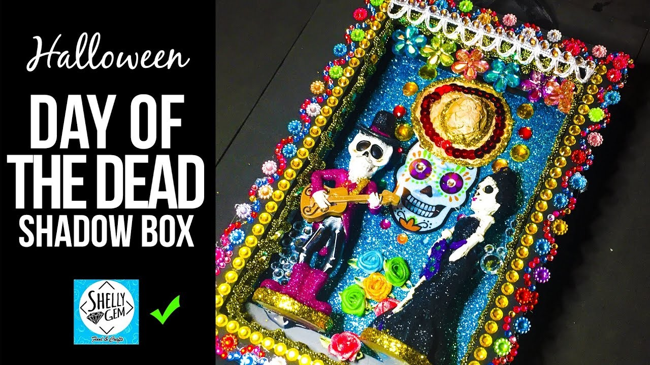 Day of the dead ???? shadow box #dayofthedead #diy #diadelosmuertos