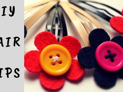 DIY Cute Hair Clips | Kids Easy Hair Accessories | DIY Hair Accessories for Girl's | Noreva Projects