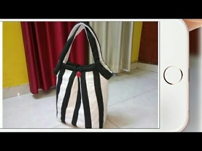 DIY : Designer Handbag No.12, Tutorial By Anamika Mishra.