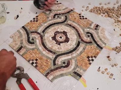 DIY make easy roman mosaic- first tutorial
