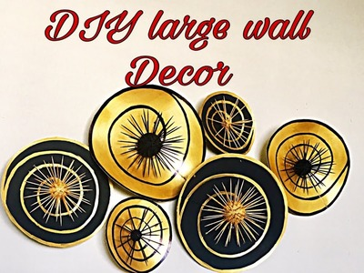 Diy unique wall hanging craft idea. wall decor.craft idea for home decor.Fashion pixies