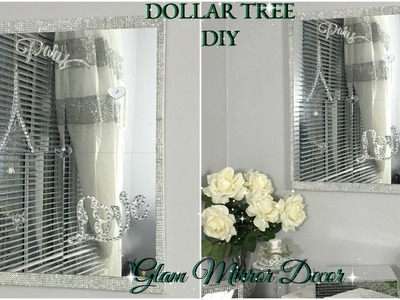 DOLLAR TREE DIY | QUICK AND EASY MIRROR WALL DECOR | DIY HOME DECOR IDEAS