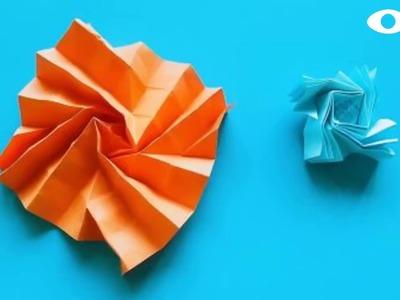 Origami Flash , Easy Origami Tutorial Seri