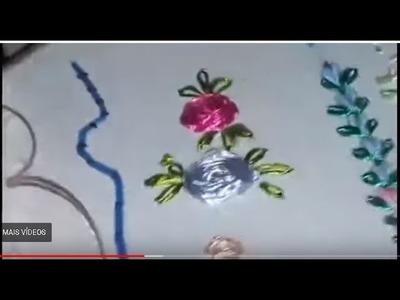 Ponto de Rosa #333 - hand embroidery ????