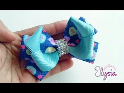 [PREVIEW] Laço Twist Fita N5 ???? Ribbon Bow Tutorial ???? DIY by Elysia Handmade