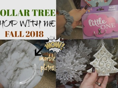 SHOP WITH ME AT DOLLAR TREE 2018  LOTS OF NEW FINDS  Megan